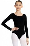 capezio cc450 adult long sleeve leotard