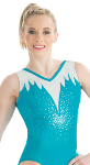 gk elite 3754 winter storm gymnastics tank leotard