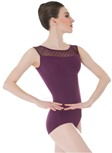 body wrappers p1040 tiler peck dotted yoke leotard
