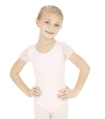 capezio 3946c childrens puff sleeve leotard