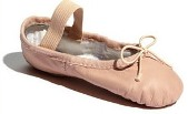 bloch s0205g dansoft girls full sole leather ballet slippers