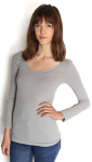 amb design 3900 classic long sleeve seamless top
