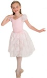 body wrappers 2221 princess aurora child 2-in-1 camisole leotard with romantic tutu