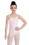 capezio cc102c child v-neck camisole leotard