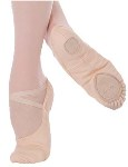 body wrappers 246 angelo luzio stretch canvas ballet slipper