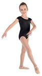 mirella m555c diamantes cap sleeve leotard