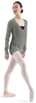 bloch z0958 adult v-neck sweater