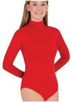body wrappers adult turtleneck leotard 201
