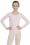 capezio tb134c team basics childrens long sleeve leotard
