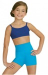 capezio tb131c team basics childrens high waisted shorts