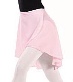 "eurotard 10126 adult 19"" georgette wrap skirt,georgette wrap skirt,wrap dance skirt"