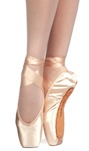 russian pointe muse pointe shoes u-cut with draw string