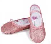 bloch s0225gg dansoft girls full sole leather ballet slippers