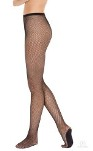 eurotard 214 adult back seam fishnet tights