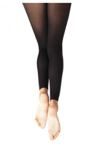 capezio 1917x young child footless tights with self knit waist band