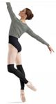 Bloch w6520b adult leg warmers
