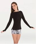 body wrappers 5185 adult long sleeve pullover
