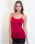 amb design 2500 ballet neck seamless cami