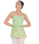 eurotard 04461 wrap skirt vintage rose leotard,adult leotards,leotards for women