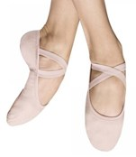 bloch s0284g girls performa canvas ballet shoes