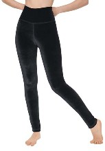 eurotard 12337 women's velvet leggings