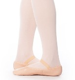 eurotard a2001a adult tendu full sole leather ballet slipper