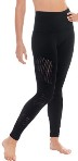 eurotard 44337 women's contour leggings with tactel microfiber