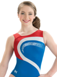 gk elite 3764 pacific liberty gymnastics workout leotard