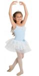 body wrappers 2220 princess aurora child 2-in-1 camisole leotard with tutu