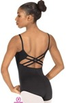 Eurotard 25726M Bridgette Adult  Tall Microfiber Trestle Back Leotard