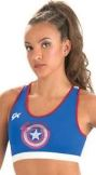 GK Elite MV009 Captain America Shield Bra
