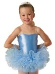 leos ld153ct childs sequin bando tutu