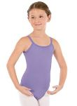 eurotard 44819c child adjustable microfiber camisole leotard