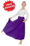 eurotard 13778c child single panel liturgical circle skirt