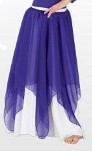 eurotard 39769c child chiffon double layered handkerchief skirt or overlay