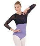 eurotard 45883 adult womens mesh crop top color swatch