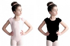 capezio 10620c child petal sleeve leotard color swatch