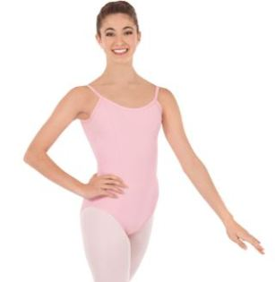 eurotard 1064 adult cotton princess seam camisole leotard