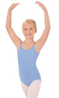 eurotard 1064c child cotton princess seam camisole leotard