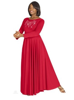 eurotard 11024 reigning cross praise dress