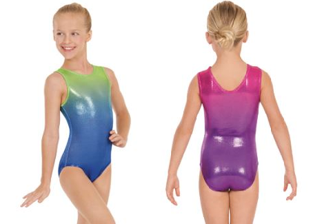 eurotard 3209 child ombre leotard