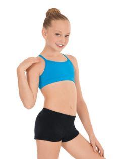 size 40 8090b 026dd eurotard 3216c eurotard child velvet booty shorts