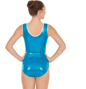 eurotard 3218A adult ocean leotard medium center