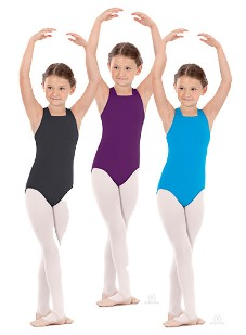 eurotard 4493c child lattice back leotard