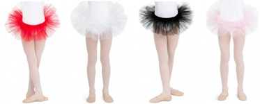 capezio 9829c childrens classic tutu color swatch 1