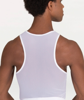 body wrappers m410 racerback pullover
