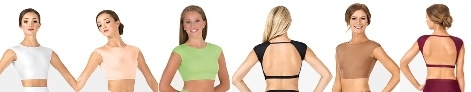 body wrappers nl9021 extended shoulder bra