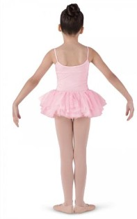 bloch cl7207 girls miliani tutu dress back