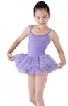 bloch cl7207 girls miliani tutu dress lilac color swatch