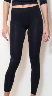 amb 1400 perfect seamless long leggings center